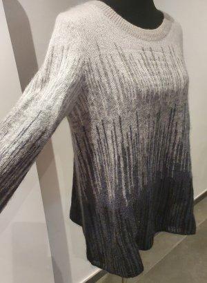 COS Jersey de lana gris-blanco puro