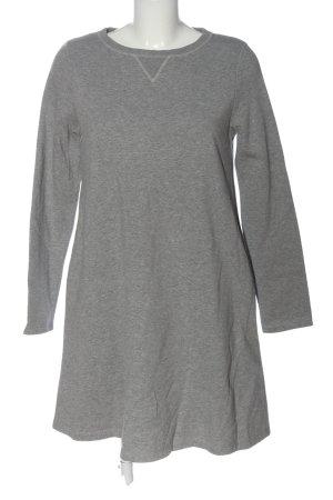 COS Abito maglione grigio chiaro puntinato stile casual