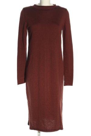 COS Swetrowa sukienka czerwony W stylu casual