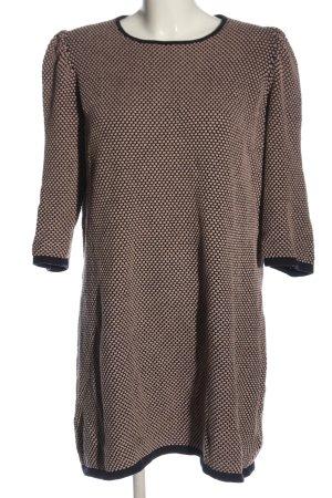 COS Pulloverkleid schwarz-creme meliert Casual-Look