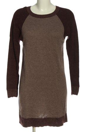 COS Pulloverkleid braun meliert Casual-Look