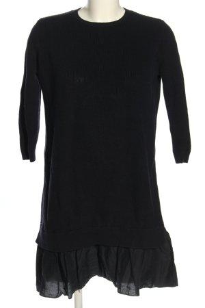 COS Sweaterjurk zwart casual uitstraling