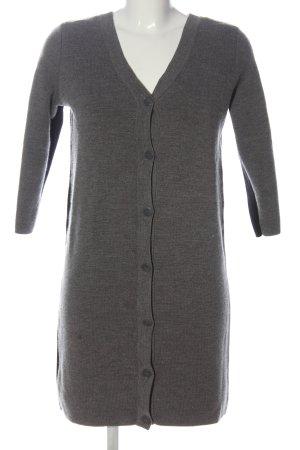 COS Pulloverkleid hellgrau-schwarz meliert Casual-Look