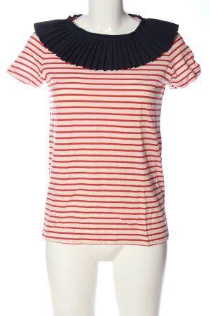 COS T-shirt rayé motif rayé style décontracté