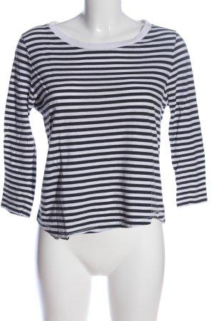 COS Ringelshirt schwarz-weiß Streifenmuster Casual-Look