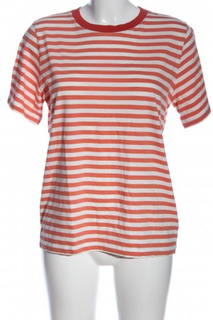 COS Stripe Shirt white-red allover print casual look