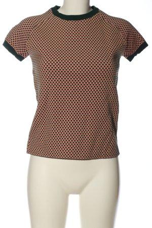 COS Camisa acanalada estampado repetido sobre toda la superficie look casual