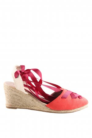 COS Roman Sandals red-cream casual look