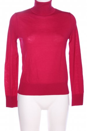 COS Turtleneck Sweater red casual look