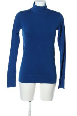 COS Rollkragenpullover blau