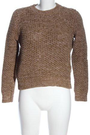 COS Crewneck Sweater brown casual look