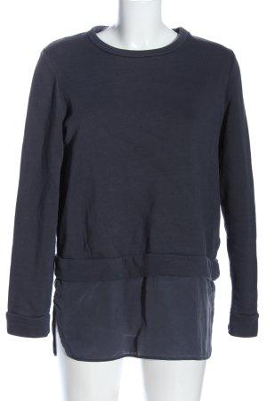 COS Rundhalspullover blau Casual-Look