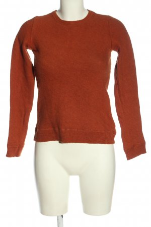 COS Rundhalspullover rot Casual-Look