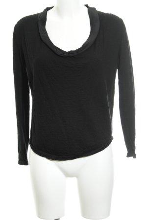 COS Rundhalspullover schwarz schlichter Stil