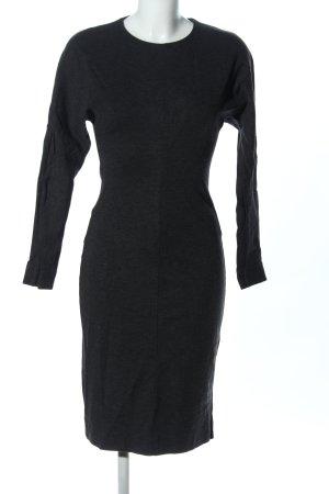 COS Robe tube noir moucheté style d'affaires