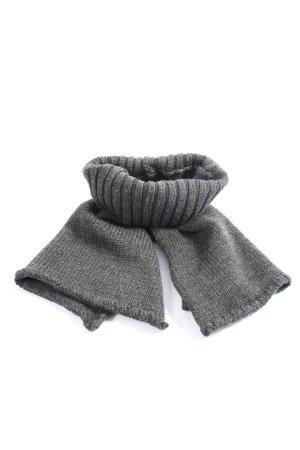 COS Écharpe tube gris clair style décontracté