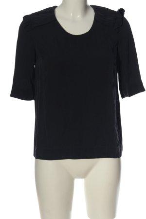 COS Blusa caída negro estilo «business»
