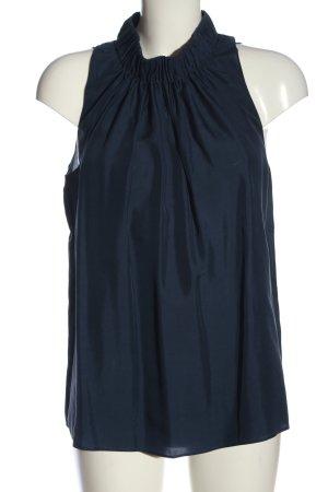 COS Schlupf-Bluse blau Casual-Look