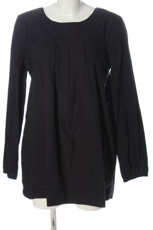 COS Slip-over blouse zwart casual uitstraling