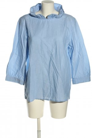 COS Schlupf-Bluse blau Business-Look