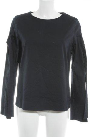 COS Schlupf-Bluse dunkelblau klassischer Stil