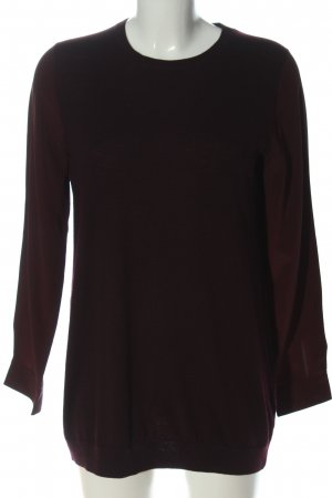 COS Schlupf-Bluse rot Casual-Look
