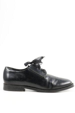 COS Schnürschuhe schwarz Elegant