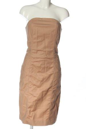 COS schulterfreies Kleid nude Casual-Look