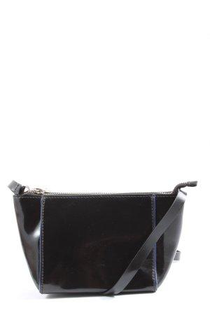 COS Schultertasche schwarz-blau Casual-Look