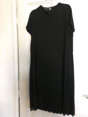COS Midi Dress black viscose