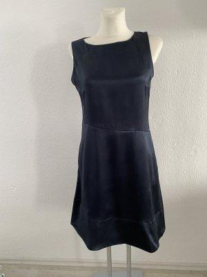 COS Seiden Kleid 38 Navy Dunkelblau