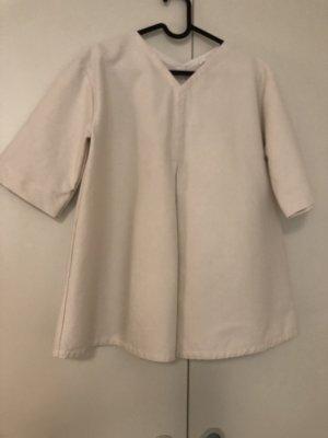 COS Camisa holgada blanco puro