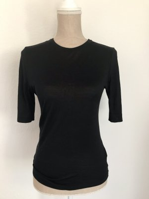 COS Camiseta negro