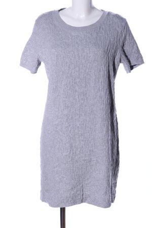 COS T-shirt jurk lichtgrijs casual uitstraling