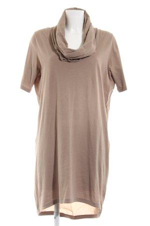 COS Vestido estilo camisa marrón look casual