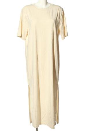 COS Vestido estilo camisa crema look casual