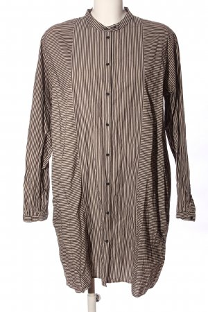 COS Shirt Tunic light grey-white striped pattern casual look