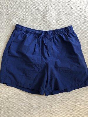 COS Shorts blu Cotone