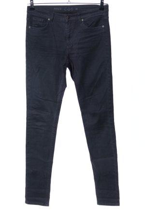 COS Skinny jeans zwart casual uitstraling