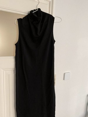 COS Midi Dress black viscose