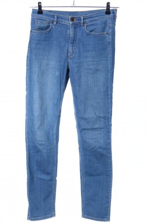 COS Slim jeans blauw casual uitstraling