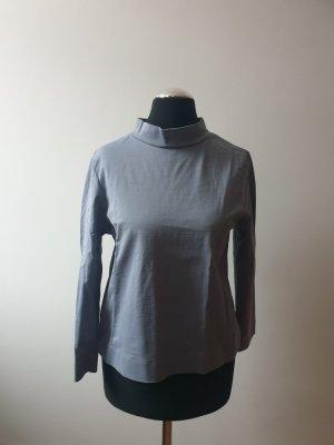 COS Camisa de cuello de tortuga gris pizarra