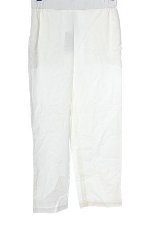 COS Pantalon en jersey blanc style décontracté