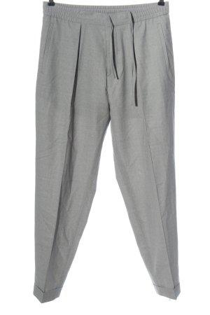 COS Pantalone jersey grigio chiaro puntinato stile casual