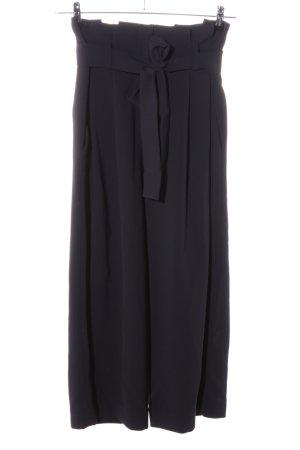 COS Stoffen broek zwart casual uitstraling