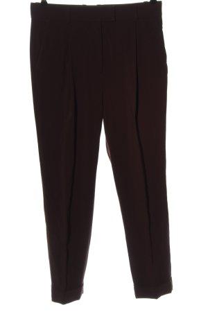 COS Pantalon en jersey brun style d'affaires