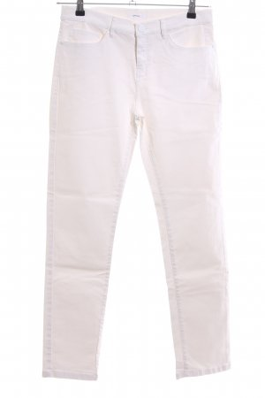 COS Straight-Leg Jeans weiß Casual-Look
