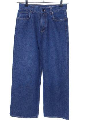 COS Jeans met rechte pijpen blauw casual uitstraling