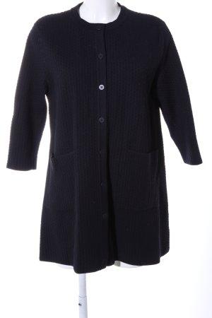 COS Gebreide cardigan zwart casual uitstraling