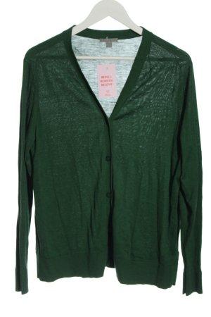 COS Strick Cardigan grün Casual-Look